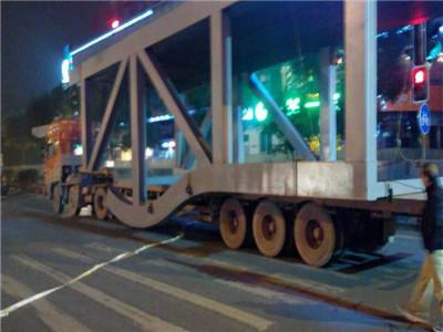 大型钢结构运输 超高超宽