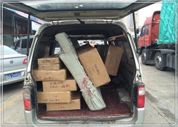 小件托运 面包车上门接送货博远物流